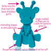 Little bamBAM Baby Teething Toy – Cyan