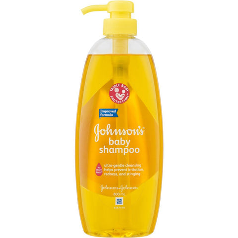 Johnson & Johnson Baby Shampoo No More Tears, 800ml