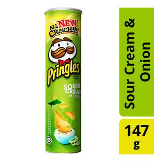 Pringles Sour Cream & Onion, 147gm