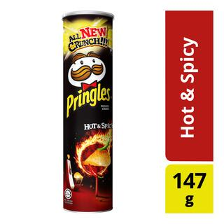 Pringles Hot & Spicy, 147gm