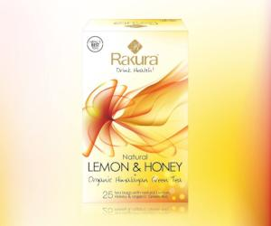 Rakura Lemon&Honey+Organic Himalayan Green Tea - Kirana - Online Shopping Nepal