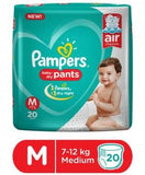 Pampers New Diapers Pants, Medium (20 Count)