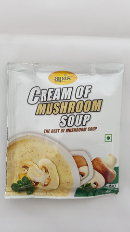 Apis Cream of Mushroom Soup, 40gm (3 Pack - Save Rs 15)