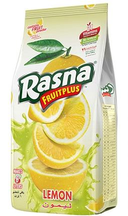Rasna Fruit Plus Lemon, 400gm