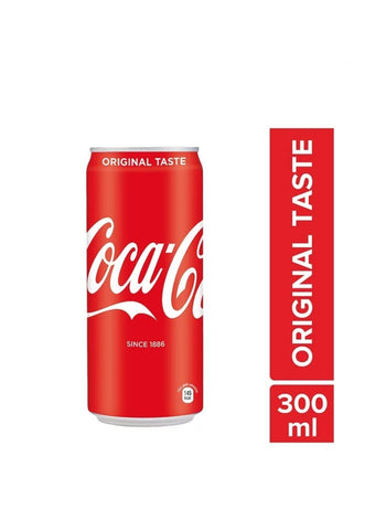 Coke Can 300ml (Pack of 3)