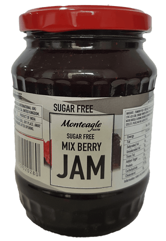Monteagle Mix Berry Sugar Free Jam, 400gm