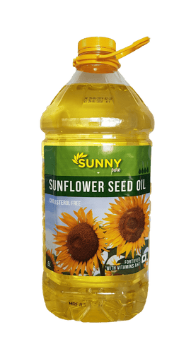 Sunny Sunflower Oil (Jar), 5ltr