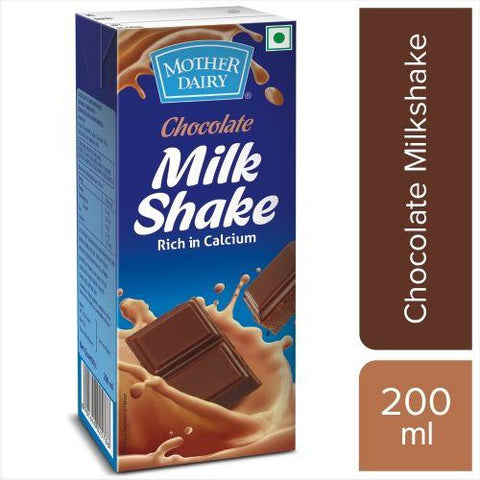 Mother Dairy Milkshake Chocolate, 200ml