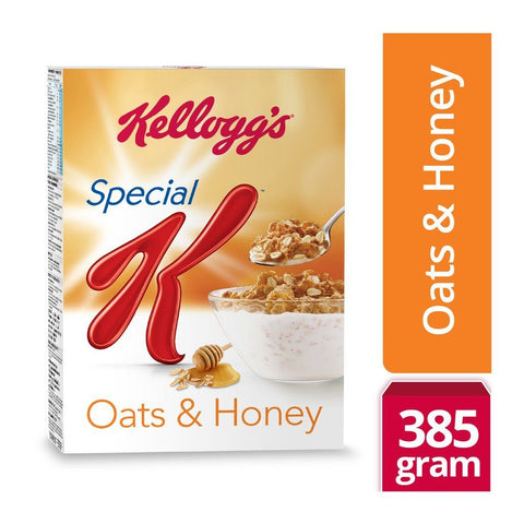 Kelloggs Special K Oats & Honey, 385gm