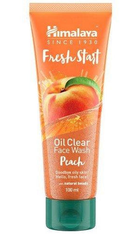 Himalaya Fresh Start Oil Clear Face Wash, Peach, 100ml