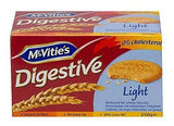 Mcvities Digestive Light Biscuits - 250 gm