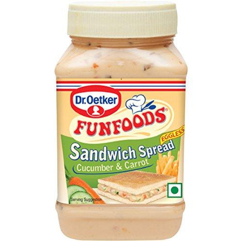 Funfoods Sandwich Spread Cucumber &Carrot-300gm
