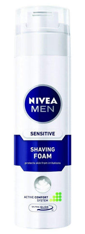 Nivea Sensitive Shaving Foam 200ml