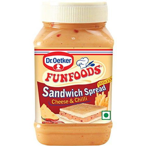 Funfoods Sandwich Spread Cheese & Chilli-275gm