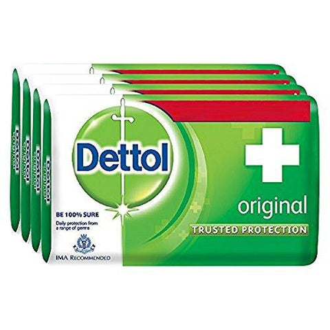 Dettol Original Soap 75gm (Buy3 Get 1 Free) - Kirana - Online Shopping Nepal