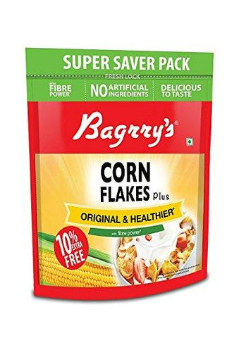 Bagrry's Cornflakes Original & Healthier Pouch-880gm - Kirana - Online Shopping Nepal