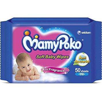 MAMY POKO BABY WIPES (WITH FRAGRANCE) - Kirana - Online Shopping Nepal