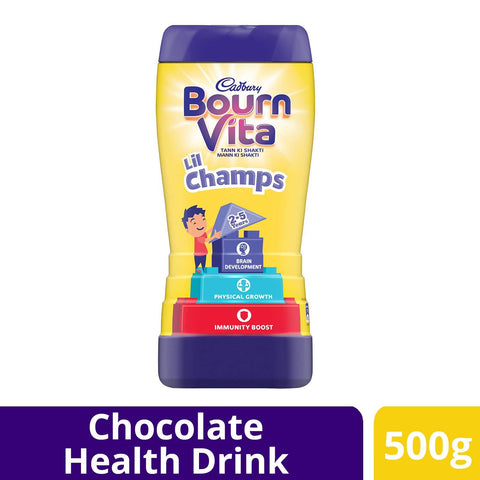 Cadbury Bournvita Lil Champ 500gm