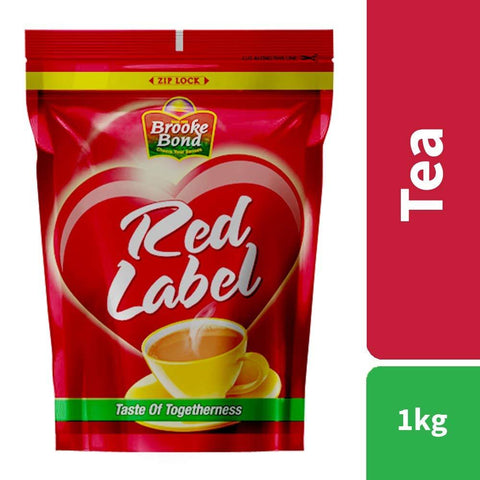 Brooke Bond Red Label Tea, 1kg ( 1kg Sugar Free)