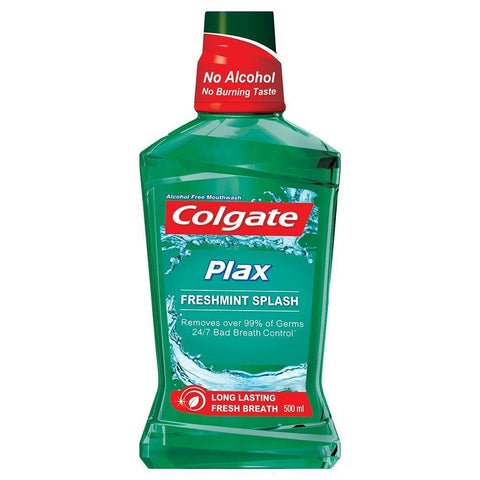 Colgate Plax Fresh Mint Mouthwash 250ml - Kirana - Online Shopping Nepal