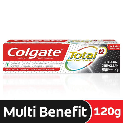 Colgate Total Charcoal Deep Clean,120gm