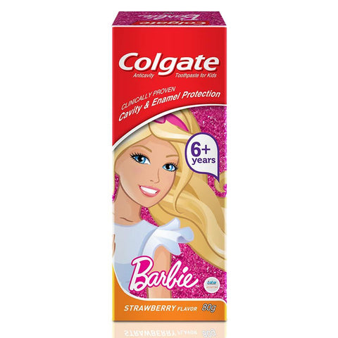 Colgate Kids Barbie Toothpaste, 80gm