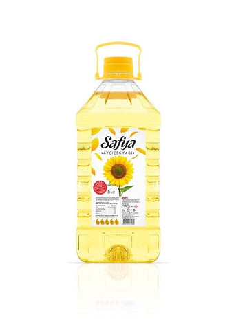 Safya Refined Sunflower Oil 5ltr