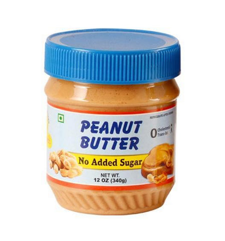 Super Nutri No Added Sugar Peanut Butter, 340gm