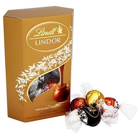 Lindt Lindor Cornet Assorted Chocolate- 200gm