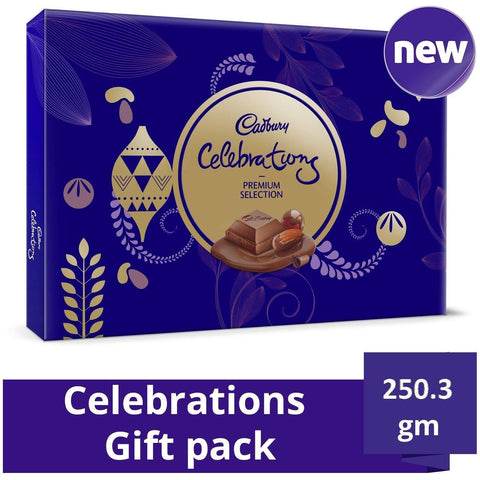 Cadbury Celebrations Premium Assorted Chocolate Gift Pack-250.3 GM