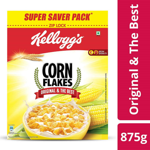 Kelloggs Corn Super Saver Pack, 875g