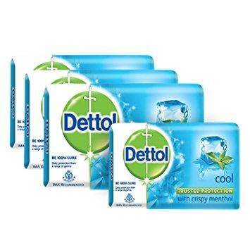 Dettol Soap Cool 125gm (Buy3 Get 1 Free) - Kirana - Online Shopping Nepal
