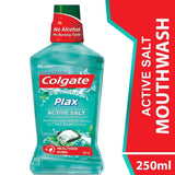 Colgate Plax Active Salt Mouthwash 250ml - Kirana - Online Shopping Nepal