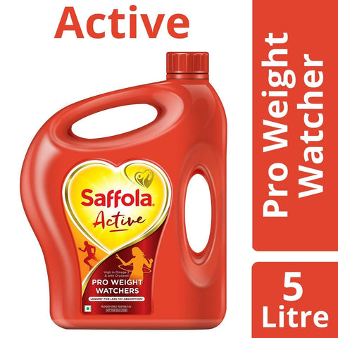Saffola Active Edible Oil 5ltr