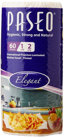 Paseo Kitchen Towel 60's 2Ply Emboss Printed, Laminated - Kirana - Online Shopping Nepal
