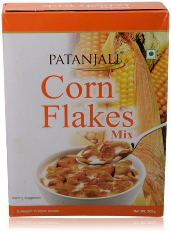 Patanjali Corn Flakes Mix, 500g - Kirana - Online Shopping Nepal