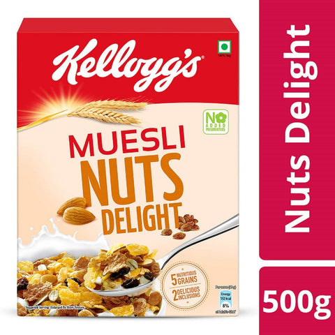 Kellogg's Muesli Nut Delight, 500gm