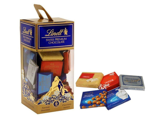 Lindt Swiss Premium Assorted Napolitains Chocolate-380gm