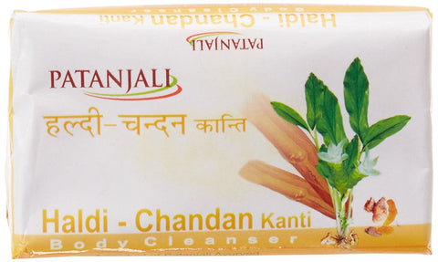 Patanjali Kanti Haldichandan Body Cleanser Soap, 75g - Kirana - Online Shopping Nepal