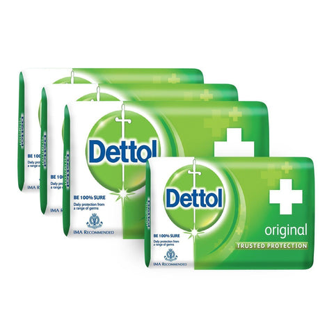 Dettol Soap Regular 125gm (Buy4 and Save Rs.72) - Kirana - Online Shopping Nepal