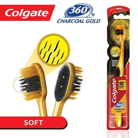 Colgate 360 Gold Single Toothbrush-1pc - Kirana - Online Shopping Nepal