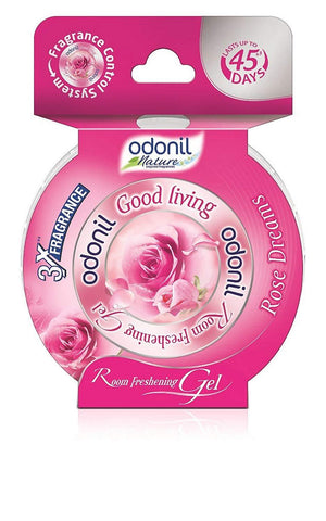 Odonil Good Living Room Freshening Gel- Rose 75gm