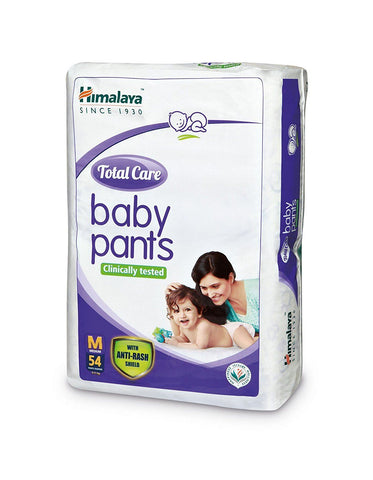 Himalaya Total Care Medium Size Baby Pants Diapers (54 Count) - Kirana - Online Shopping Nepal
