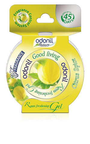 Odonil Good Living Room Freshening Gel- Citrus 75gm