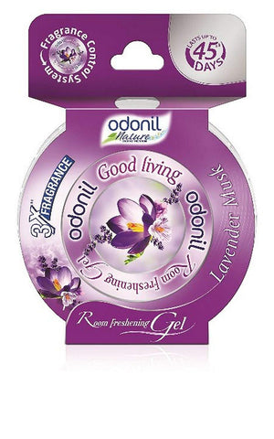 Odonil Good Living Room Freshening Gel- Lavendar 75gm