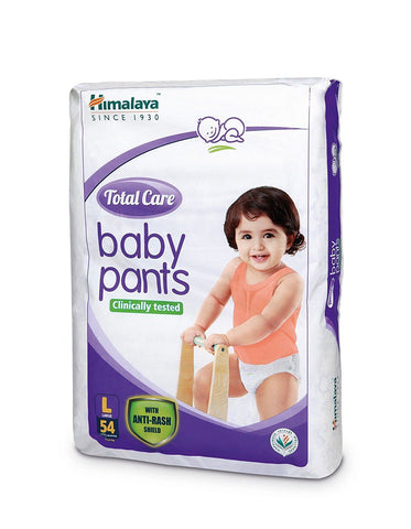 Himalaya Total Care Baby Pants Diapers Large Size(54 Count) - Kirana - Online Shopping Nepal