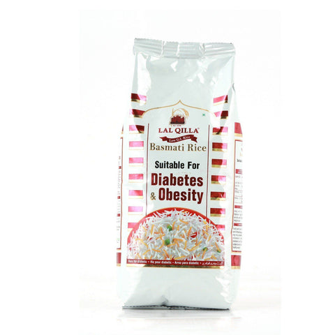Lal Qilla Basmati Rice - Diabetes and Obesity, 1kg Pouch