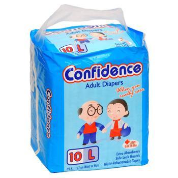 Confidence Adult Diaper Large 10'S - Kirana - Online Shopping Nepal