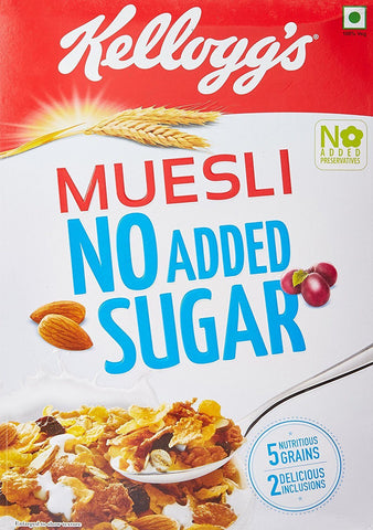Kellogg's Muesli No Added Sugar - Kirana - Online Shopping Nepal