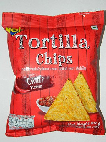 NOI Tortilla Chips Chilli Flavored 60gm